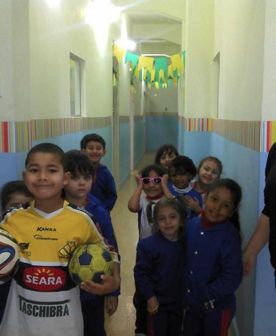"""Projeto Profissões """"Futebol"""" – Educação Infantil 2014"""