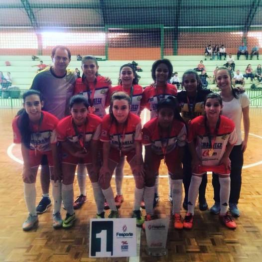 Futsal Feminino Rogacionista é Campeão Estadual