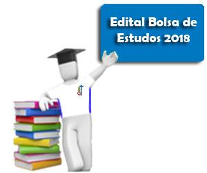 Edital bolsa 2018