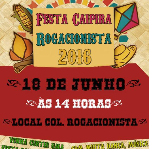 """Tradicional """"Festa Caipira Rogacionista 2016″"""