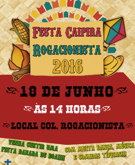 FESTA CAIPIRA ROGACIONISTA