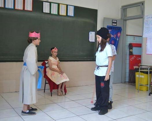 """Mostra Teatral no 4º Ano """"A"""""""
